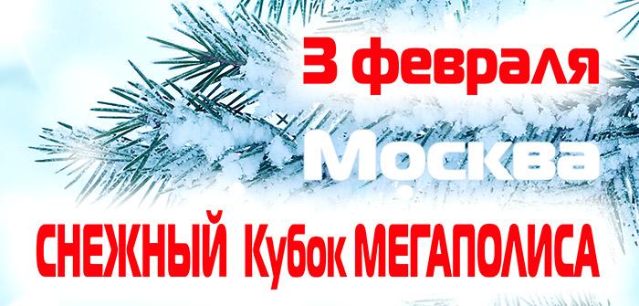 Снежный Кубок Мегаполиса -2019. Москва, 3 февраля, ТЗ Атмосфера