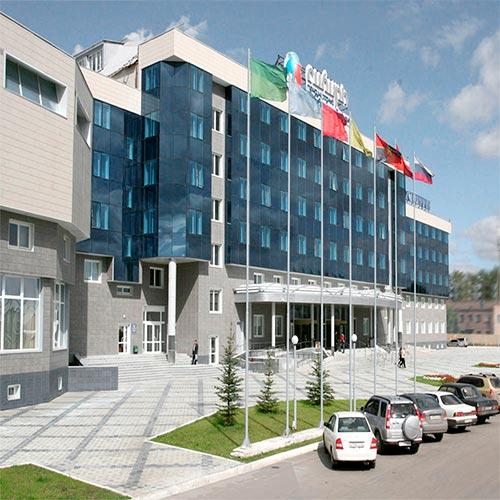 Красноярск. Международный выставочно-деловой центр «Сибирь»