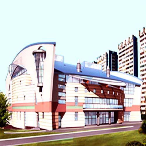 Москва. Дворец игровых видов спорта